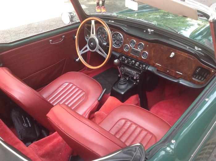 1967 Triumph Tr4a Ct76946l Registry The Triumph