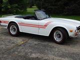 1971 Triumph TR6 White Rick Kusy