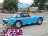 1975 Triumph TR6 Blue George Raffensperger