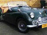 1960 Triumph TR3A BRG Michael FitzGeorge