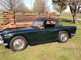 1966 Triumph TR4A Green Drew H
