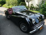 1960 Triumph TR3A Black With Red Interior David Albert