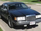 1988 Lincoln Continental Black Al Martin