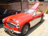 1958 Austin Healey 100 Six Red White Kevin Quistberg E