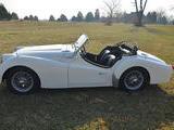 1958 Triumph TR3A White Kevin D