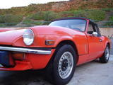 1979 Triumph Spitfire 1500 Orange Don McHale