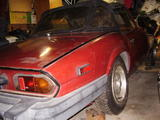1979 Triumph Spitfire 1500 Oxidized Carmine Red Don McHale
