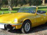 1976 Triumph 1500 Yellow J P Rap