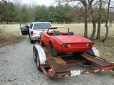 1973 Triumph Spitfire 1500 Red Jim B