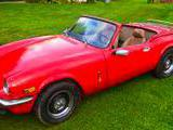 1977 Triumph Spitfire 1500 Red Shawn Murphy