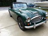 1967 Austin Healey 3000 BJ8 Brooklands Green Graham Hill