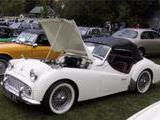 1959 Triumph TR3A Old English White Barry Shefner