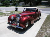 1946 Triumph 1800 Roadster Red Philip Ross
