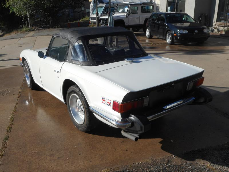 For Sale  1976 Triumph Tr6  Cf56832u    Registry   The