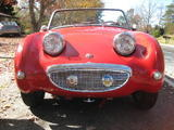 1959 Austin Healey Bugeye Sprite Red Matthew Connolly