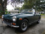 1972 MG Midget Green Mallard Courtney Charvet