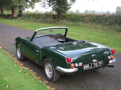 1968 triumph spitfire mkiii mrj767f registry the triumph experience. Black Bedroom Furniture Sets. Home Design Ideas