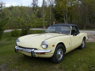 1969 triumph spitfire mkiii (fdu48970l) : registry : the triumph