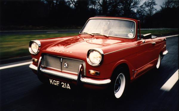 Célèbre 1967 Triumph Herald 1200 (GA223846CV) : Registry : The Triumph  PI27
