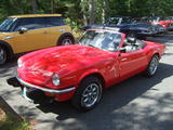 1976 Triumph Spitfire 1500 Viper Red Barry Hotspur