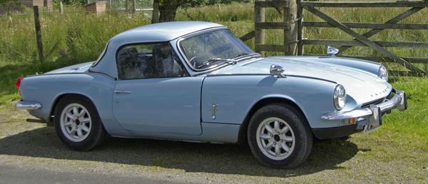 1969 triumph spitfire mkiii (fd43604) : registry : the triumph