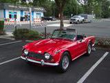 1968 Triumph TR250 Red Donald Holding