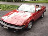 1980 Triumph TR7 Drophead Carmine Sheldon Weaver